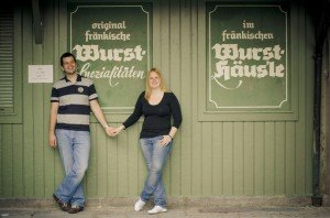 Couple portrait session in honeymoon destinations like Munich Germany with TripShooter Destination Photographer
