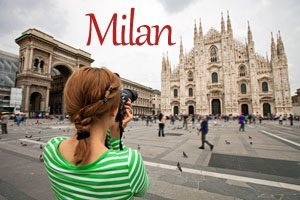 Vacation Photographer Milan Button