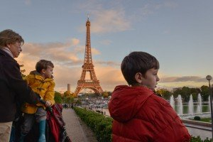 TripShooter Vacation Photos in Paris France with Eiffel Tower
