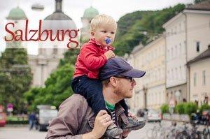Vacation Photographer Salzburg Button
