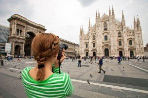 Vacation Photographer Milan header