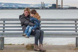 Vacation photo of tourist in Dublin Ireland