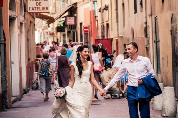 Didier Ours TripShooter Vacation Photographer in Nice France - loving destination wedding couple in French Riviera