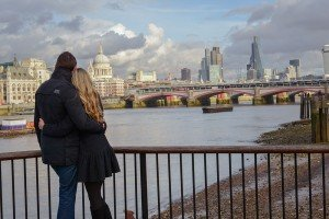 Honeymoon vacation trip in London by TripShooter honeymoon photographer