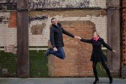 Wedding proposals make travellers jump in happiness by TripShooter honeymoon photographer