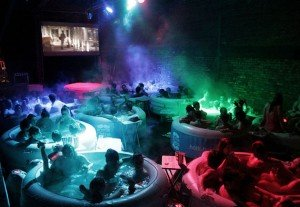 Hot tub Cinema in London UK