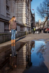 TripShooter Vacation Photographer London - exploring Whitehall and Westminister by foot