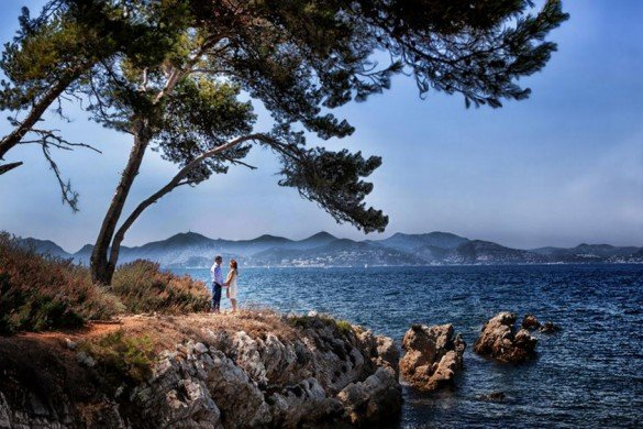 Beautiful landscape in Cannes (Photographer: Philippe Groswald)