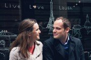 Surprise marriage proposal in Paris photography