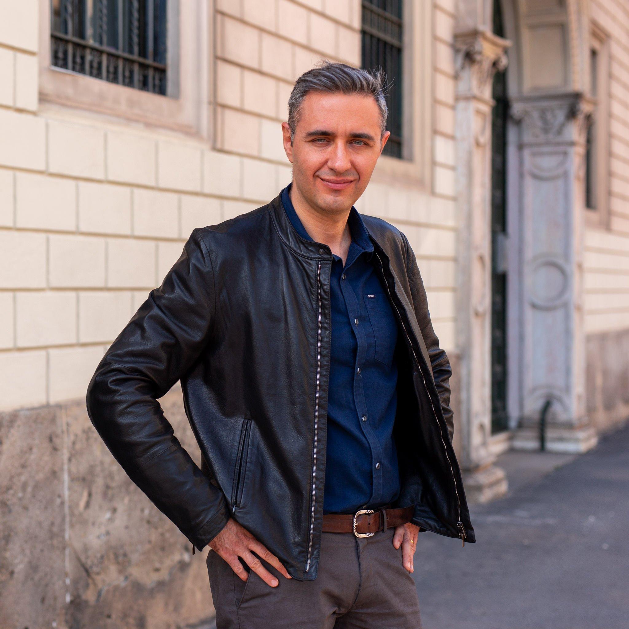 Portrait of Milan photographer Alessandro della Savia