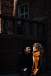 Beautiful couple photos in Stockholm with a Stockholm photographer