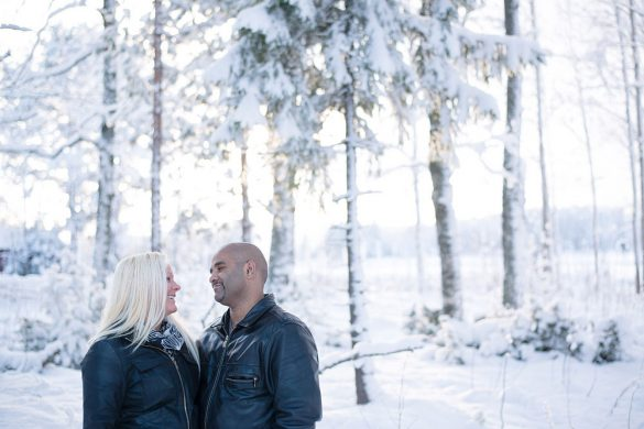 Winter vacation photos in Stockholm with a Stockholm photographer