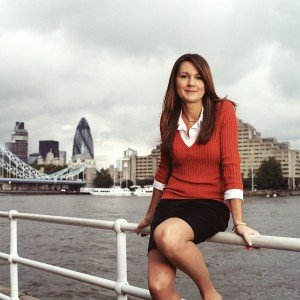 Portrait by the Thames by David Woolfall London photographer