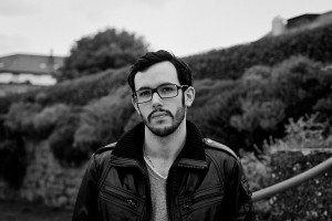 Portrait of French photographer in Paris, Marc Mateus