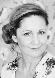 Portrait of Stockholm photographer Gunta Podina