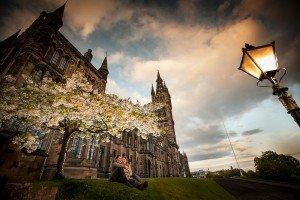 Romantic setting photo by Glasgow photographers Chris Logue and Ewan Cameron