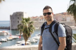 Portrait of Dubrovnik photographer Nino Knezevic