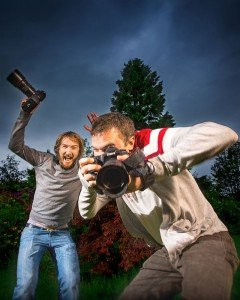 Chris Logue and Ewan Cameron TripShooter photographers in Glasgow