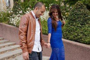 Loving honeymoon photos in a romantic photo shoot in Paris France. Photos by Paris photographer Jade Maitre.