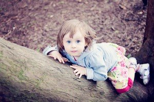 Little girl exploring by Ewa Wijita TripShooter Edinburgh Photographer