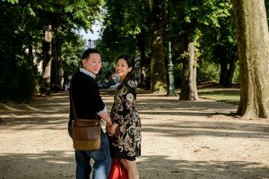 Romantic holiday photos in Paris by Paris photographer Pierre Turyan for TripShooter