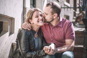Romantic couple portrait by TripShooter Amsterdam photographer Sal Marston
