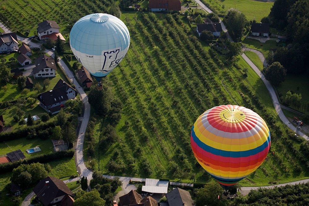 Ballooning in Austria