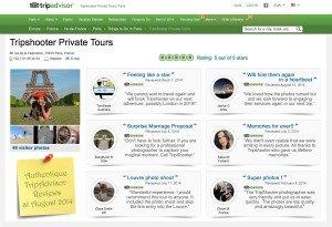Customer Reviews at TripAdvisor