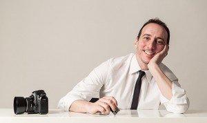 Portrait of Alessandro Iasevoli TripShooter Photographer in Rome