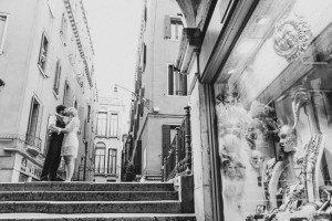 Romantic photo in Venice, Italy by photographer Vito Ancona