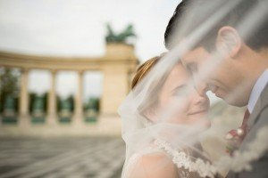 Romantic destination wedding portrait in Hungary, by TripShooter Budapest photographer Melinda Guerini Temesi
