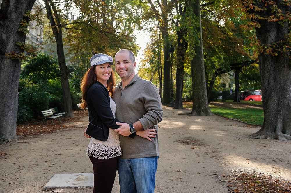 Couple's vacation photos in Paris by TripShooter's Paris photographer Pierre Turyan