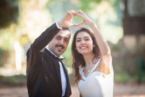 Destination wedding photo of happy couple in Rome, by TripShooter Rome photographer Alex Marchese