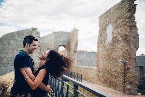 Couple on Italian travel adventure by TripShooter's photographer in Italy Giancarlo Malandra