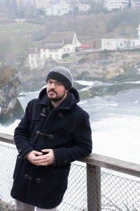 Vacation Photos at Rhine Falls Switzerland