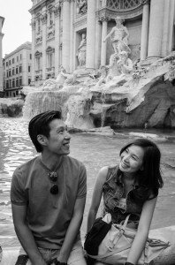 Couple portait in Italy by TripShooter's Rome Photographer Bob Fiore