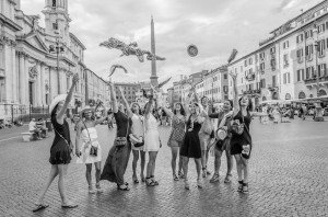 Girls' weekend away in Rome, by TripShooter Rome photographer Bob Fiore