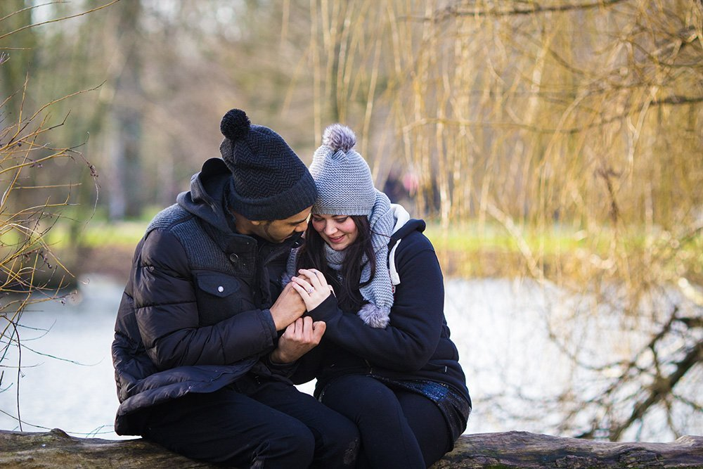 Surprise marriage proposal photoshoot in Amsterdam, captured by TripShooter photographer in Amsterdam Elena Pasca