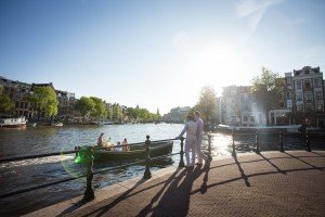Amsterdam canal scene, photo by Elena Pasca TripShooter photographer in Amsterdam