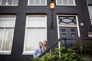 Amsterdam photoshoot for couples by TripShooter's Amsterdam photographers Elena Pasca and Radu Voineau