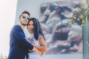 Couple portrait in Greece by TripShooter's Athens photographer Andreas Stavropoulos
