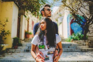 Couple fashion shoot photo by TripShooter's Athens photographer Andreas Stavropoulos