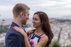 Marriage proposal photo shoot by Athens photographer Dimitris Giouvris