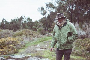 Older man with beard in winter landscape, by TripShooter's photographer in Santiago de Compostela, Bertolino Matteo
