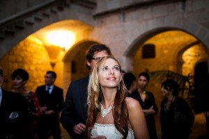 Bride at wedding, by Ramon Fornell photographer in Barcelona