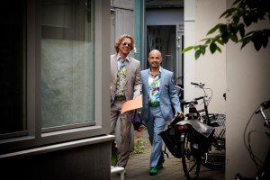 Portrait of men in suits, by TripShooter's photographer in Amsterdam, Adrienne Norman
