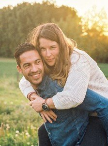Couple portrait at sunset, by TripShooter's photographer in Brussels, Dieter Decuypere