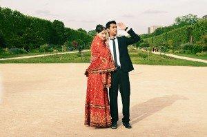 Destination wedding couple by TripShooter photographer in Paris Clara Abi Nadar