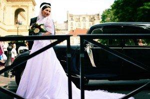 Wedding portrait in Paris by TripShooter photographer in Paris Clara Abi Nadar