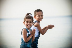 Adorable travel photos of children in Nice by French photographer for TripShooter, Didier Ours